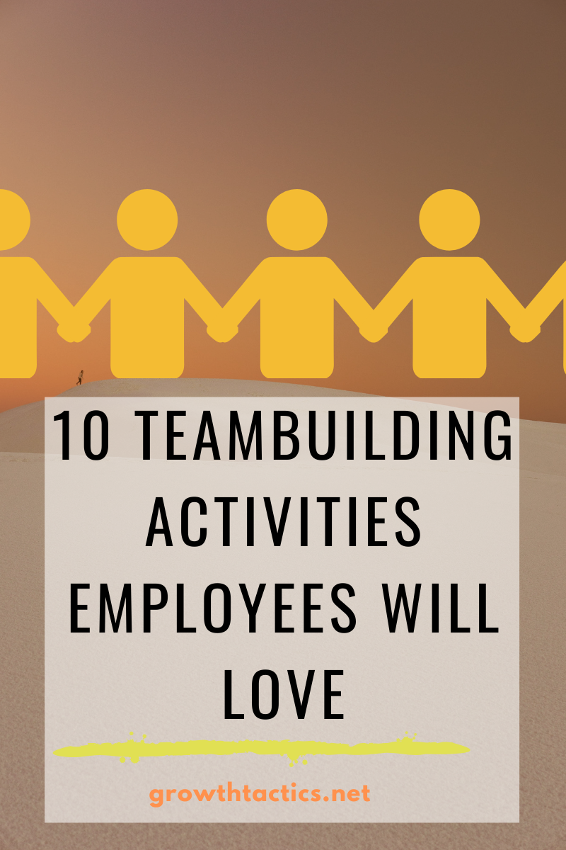 10 Fun Team Building Activities for Work Employees Will Love
