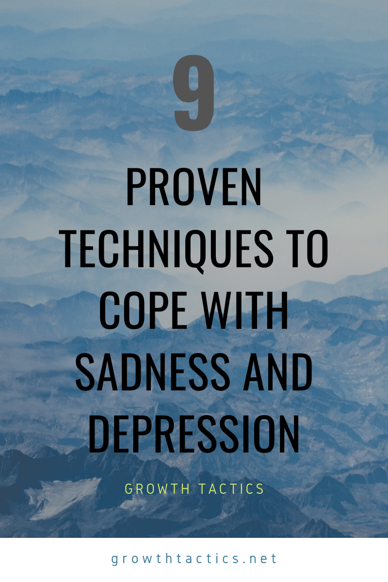 9 Proven Ways to Deal with Depression