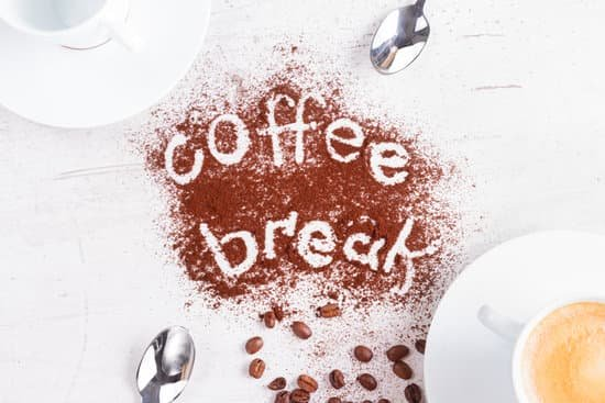 Image of a coffee break to increase productivity.