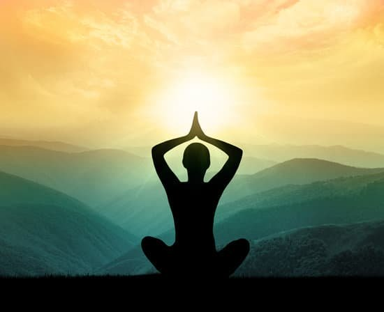 Image of a person meditating to become a better person.