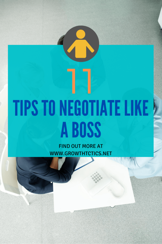 11 Tips to Negotiate Like a Boss