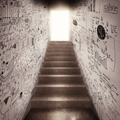 Image of stairs leading to light for how to leave a legacy section.