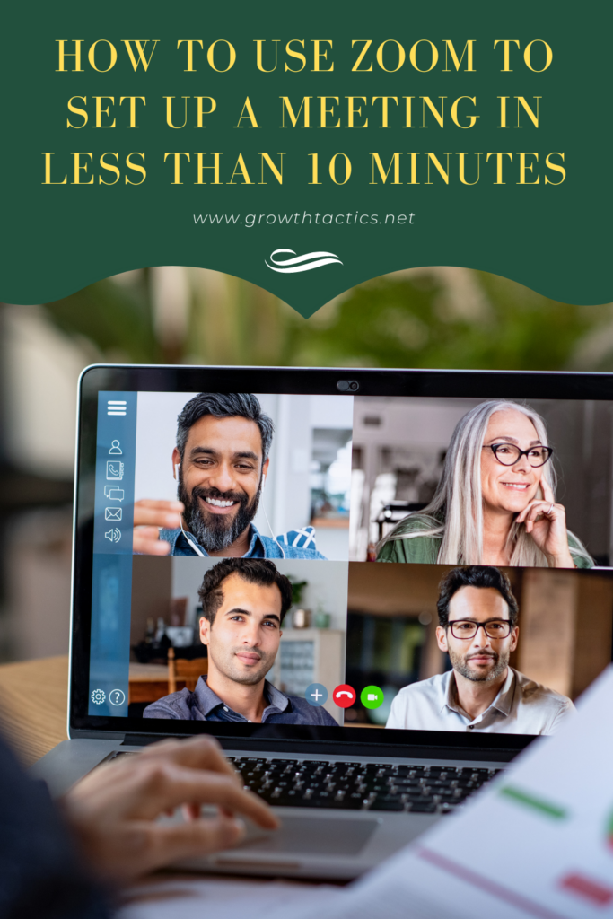 How to Use Zoom to Set up a Meeting in Less Than 10 Minutes Pin
