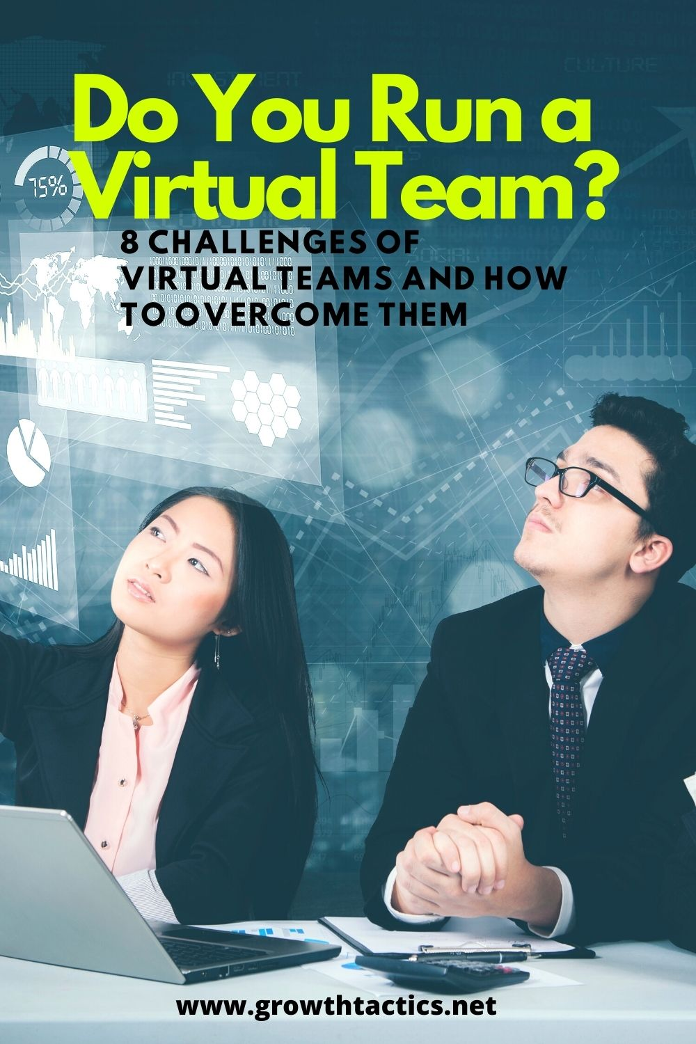 Pinterest image for 8 Challenges of Virtual Teams and How to Overcome Them.