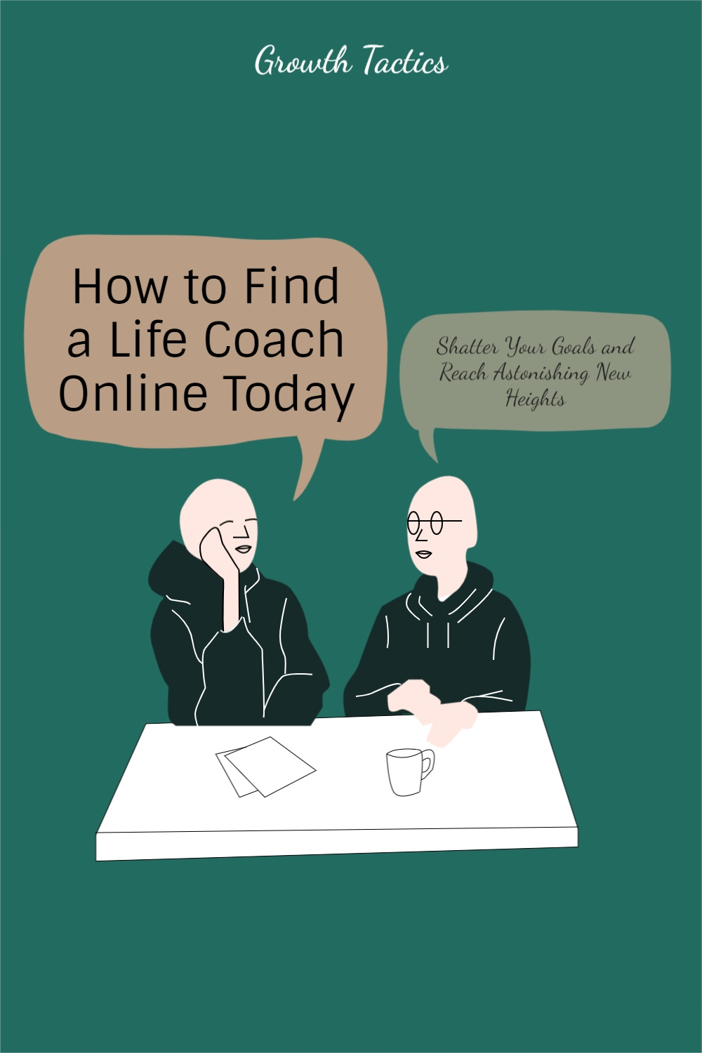Pinterest image. How to Find a Life Coach Online Today to Shatter Your Goals and Reach Astonishing New Heights