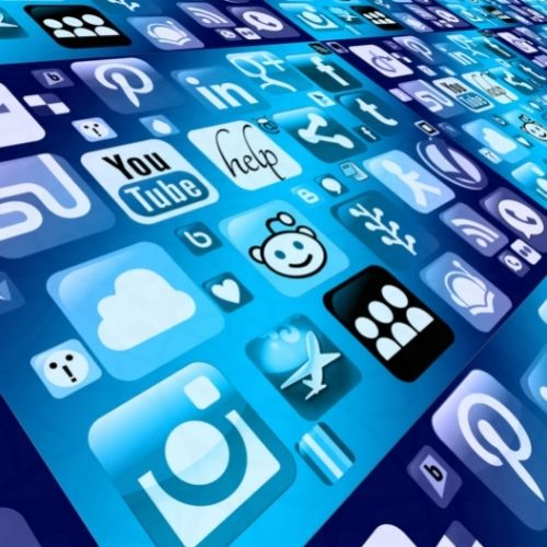 Image of various app icons.
