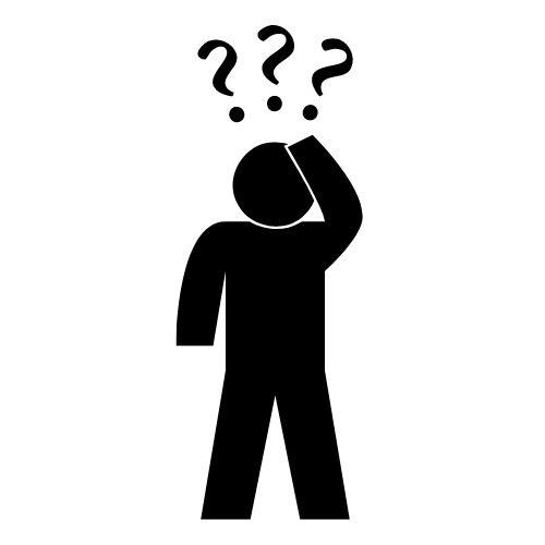 Image of a person questioning for hot improve problem solving skills.