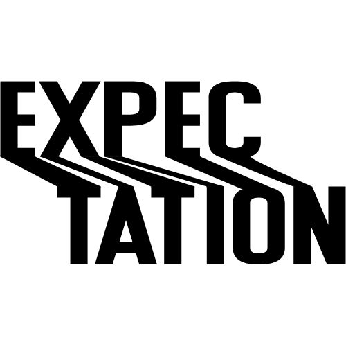 """Image of the word """"expectation"""" for the get feedback section."""