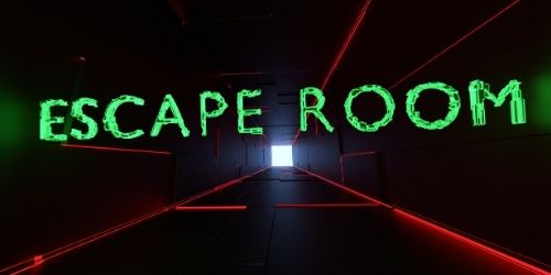 Image of an escape room for Escape Room team building game.