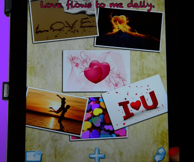 Image of Jack Canfield Vision Board by Mogulworx app for Android or Apple.