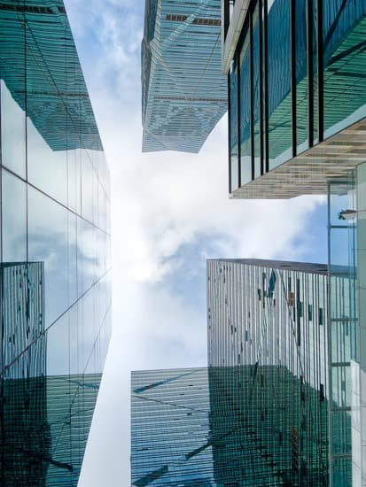 Image of the tops of buildings where many believe all leaders are.