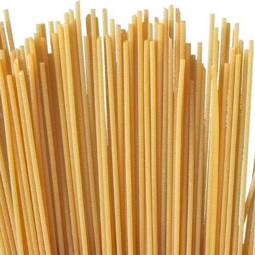 Image of spaghetti noodles for Spaghetti Tower team building game.